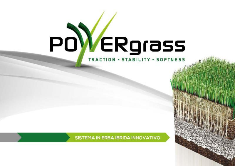 POWERgrass prato ibrido Brochure IT